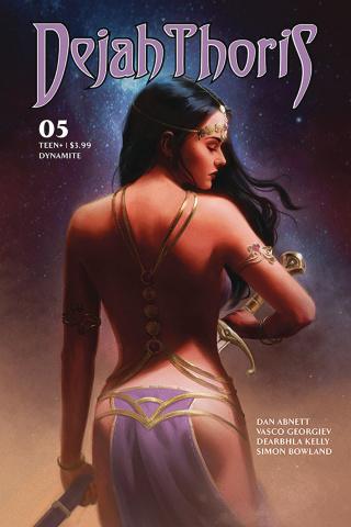 Dejah Thoris #5 (Preissler Cover)