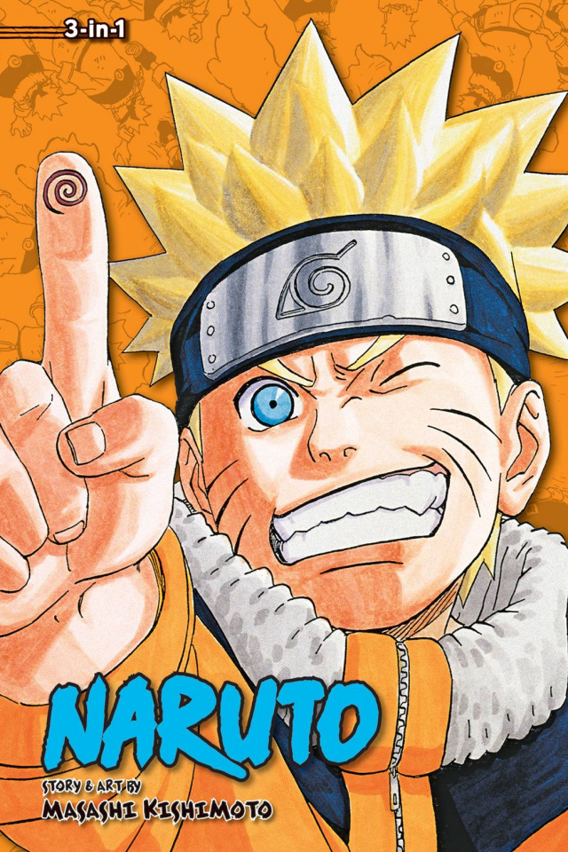 Naruto Vol. 8 (3-in-1)