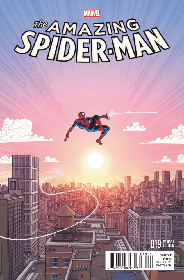 The Amazing Spider-Man #19 (Kuder Cover)