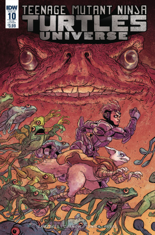Teenage Mutant Ninja Turtles Universe #10 (Subscription Cover)