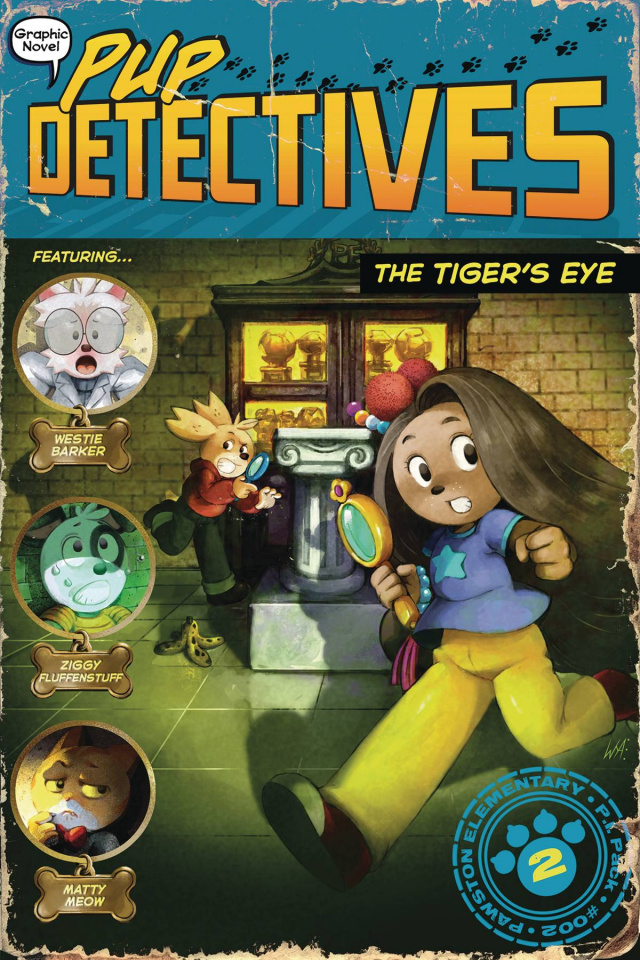 Pup Detective Vol. 2: The Tiger's Eye