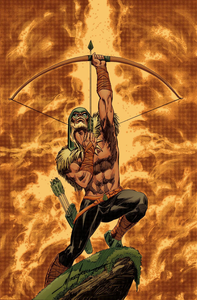 Green Arrow #32 (Variant Cover)