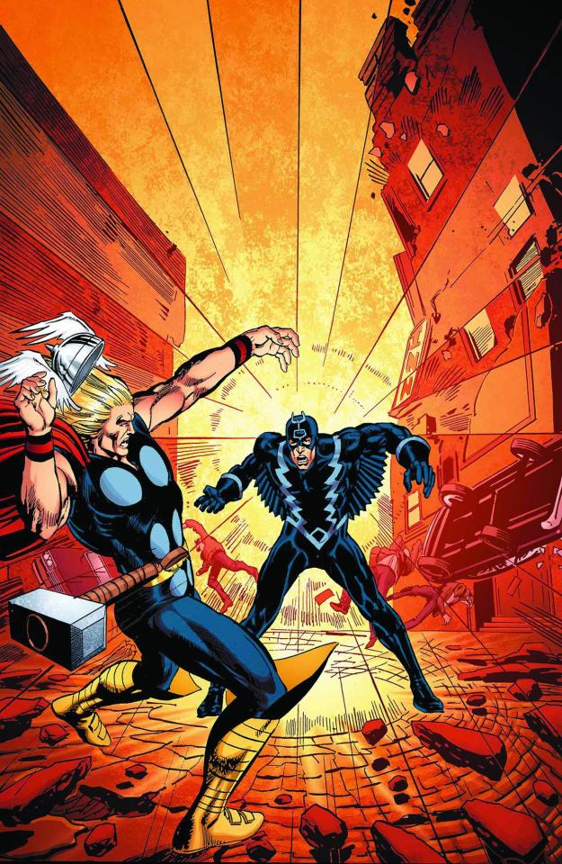 Black Bolt: Something Inhuman This Way Comes