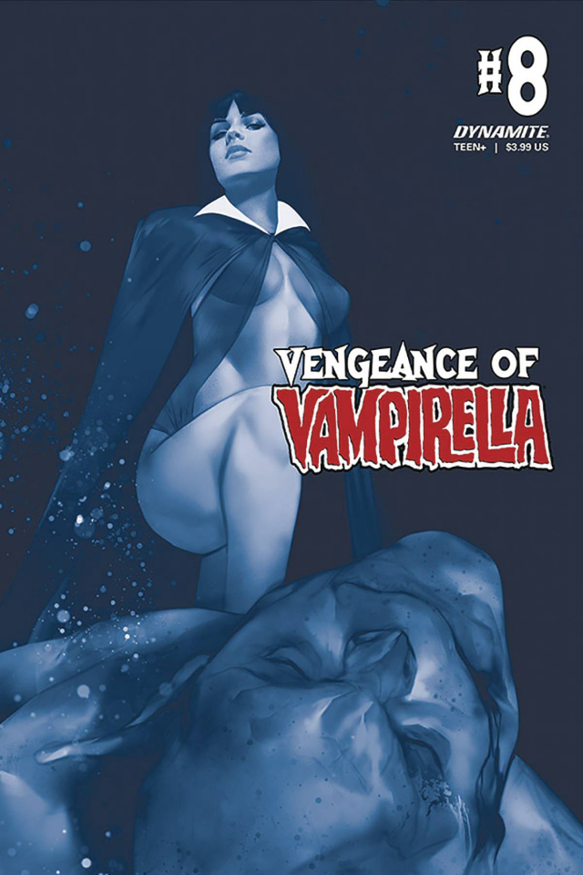 Vengeance of Vampirella #8 (CGC Graded Oliver Cover)