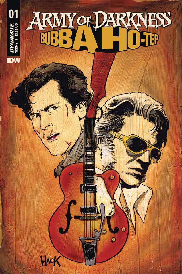 Army of Darkness / Bubba Ho-Tep #1 (Hack Cover)