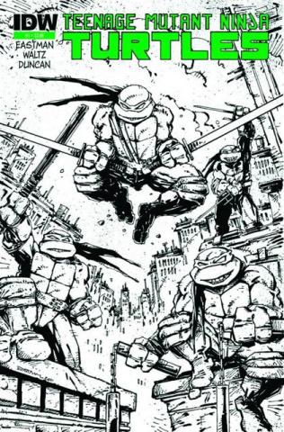 Teenage Mutant Ninja Turtles #1 (Global Conquest Edition)