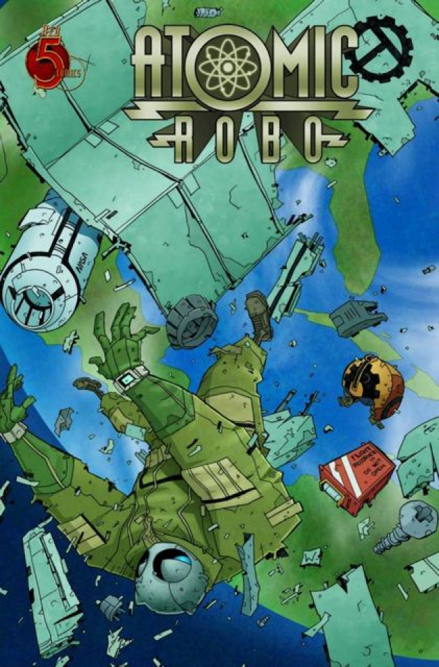 Atomic Robo: The Ghost of Station X #2