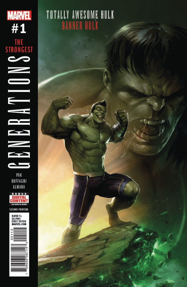 Generations: Banner Hulk & Totally Awesome Hulk #1 (2nd Printing)