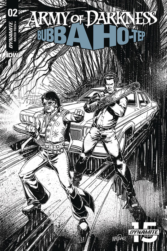 Army of Darkness / Bubba Ho-Tep #2 (30 Copy Mandrake B&W Cover)