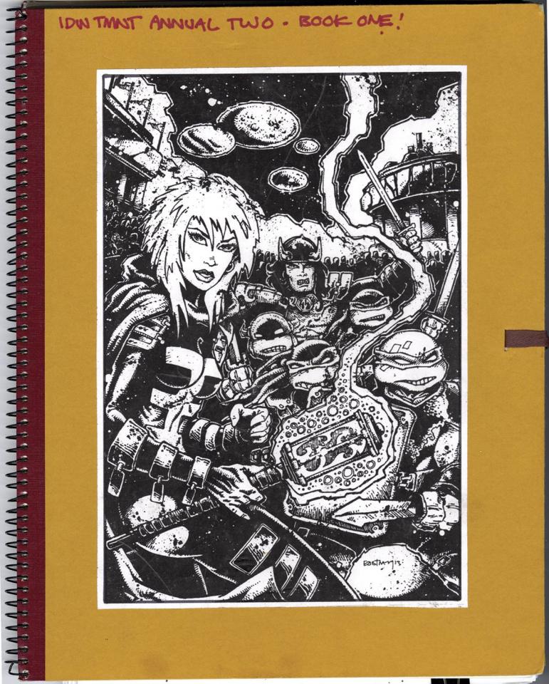 Teenage Mutant Ninja Turtles: Kevin Eastman Notebook Series 2014 Annual