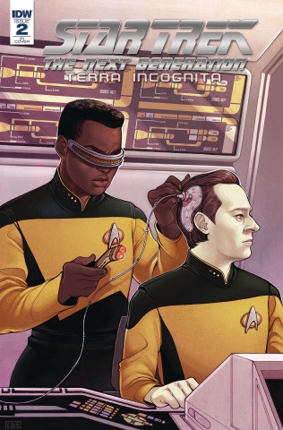 Star Trek: The Next Generation - Terra Incognita #2 (10 Copy Beals Cover)