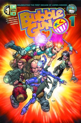 BubbleGun #1 (Direct Market Cover)