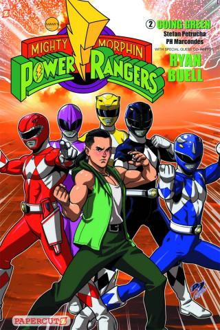 Mighty Morphin' Power Rangers Vol. 2: Going Green