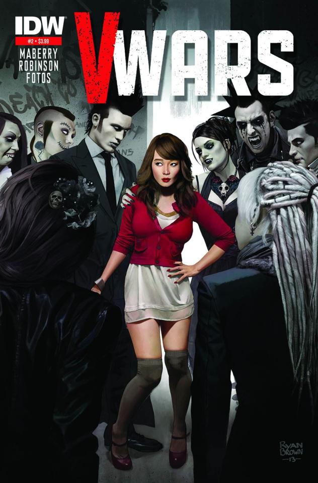 V-Wars #2 (2nd Printing)