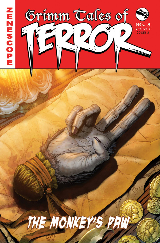 Grimm Fairy Tales: Grimm Tales of Terror #8 (Eric J Cover)
