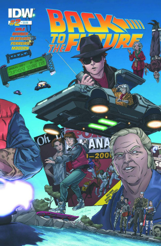 Back to the Future #2 (2nd Printing)