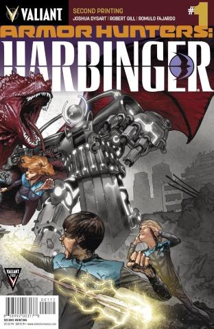 Armor Hunters: Harbinger #1 (2nd Printing)
