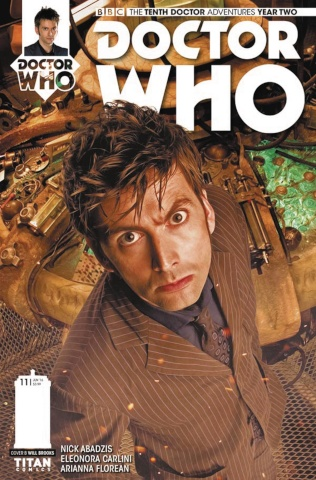 Doctor Who: New Adventures with the Tenth Doctor, Year Two #11 (Photo Cover)