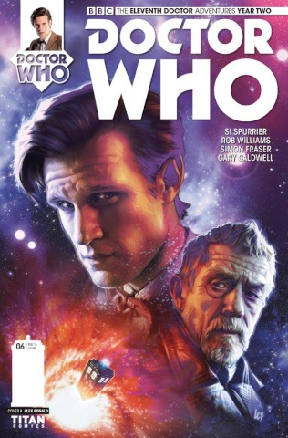 Doctor Who: New Adventures with the Eleventh Doctor, Year Two #6 (Ronald Cover)