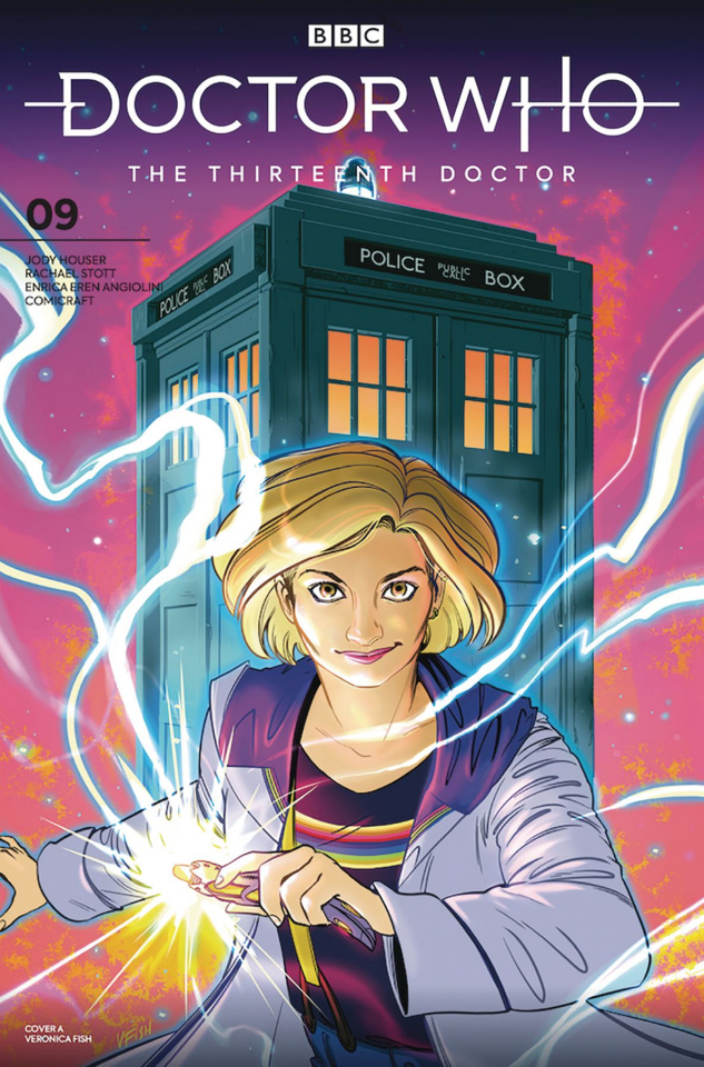 Doctor Who: The Thirteenth Doctor #9 (Fish Cover)