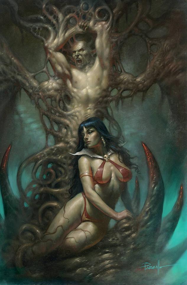 Vengeance of Vampirella #16 (Parrillo Virgin Cover)