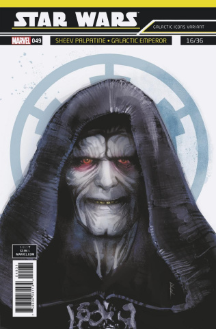Star Wars #49 (Reis Galactic Icon Cover)