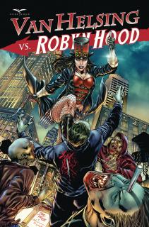 Van Helsing vs. Robyn Hood #4 (Vitorino Cover)