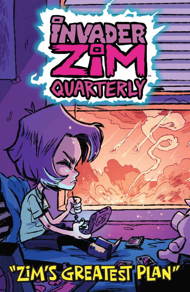 Invader Zim Quarterly: Zim's Greatest Plan #1 (Cab Cover)