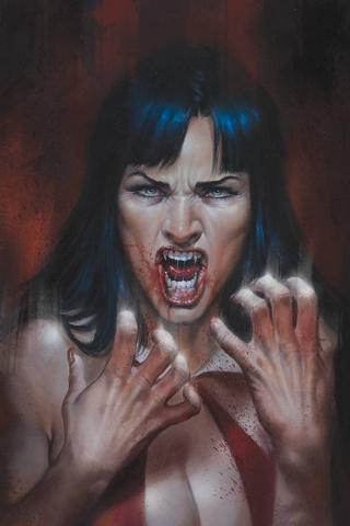 Vengeance of Vampirella #10 (Parrillo Virgin Cover)