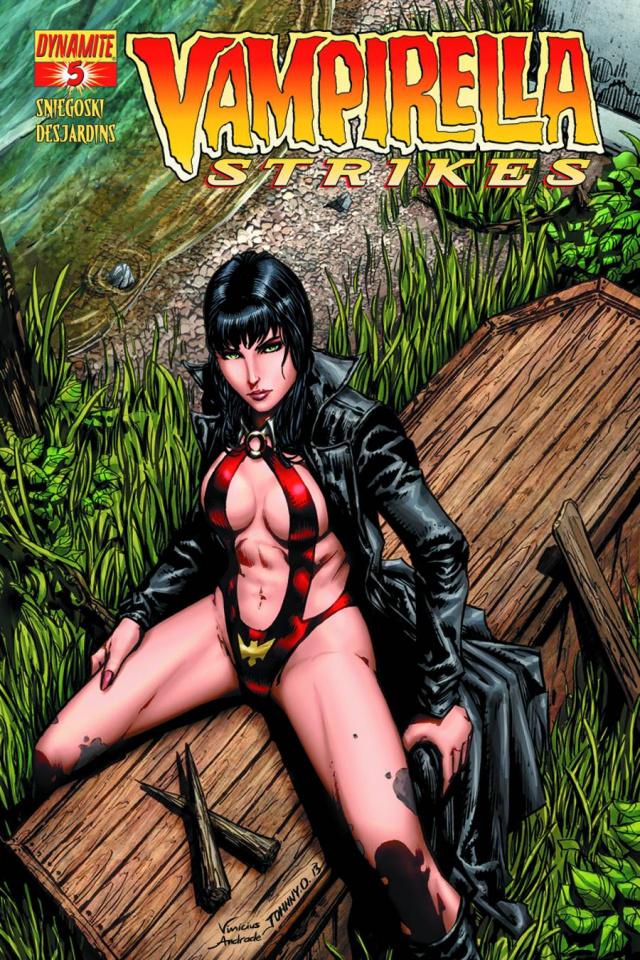 Vampirella Strikes #5 (Johnny D Cover)
