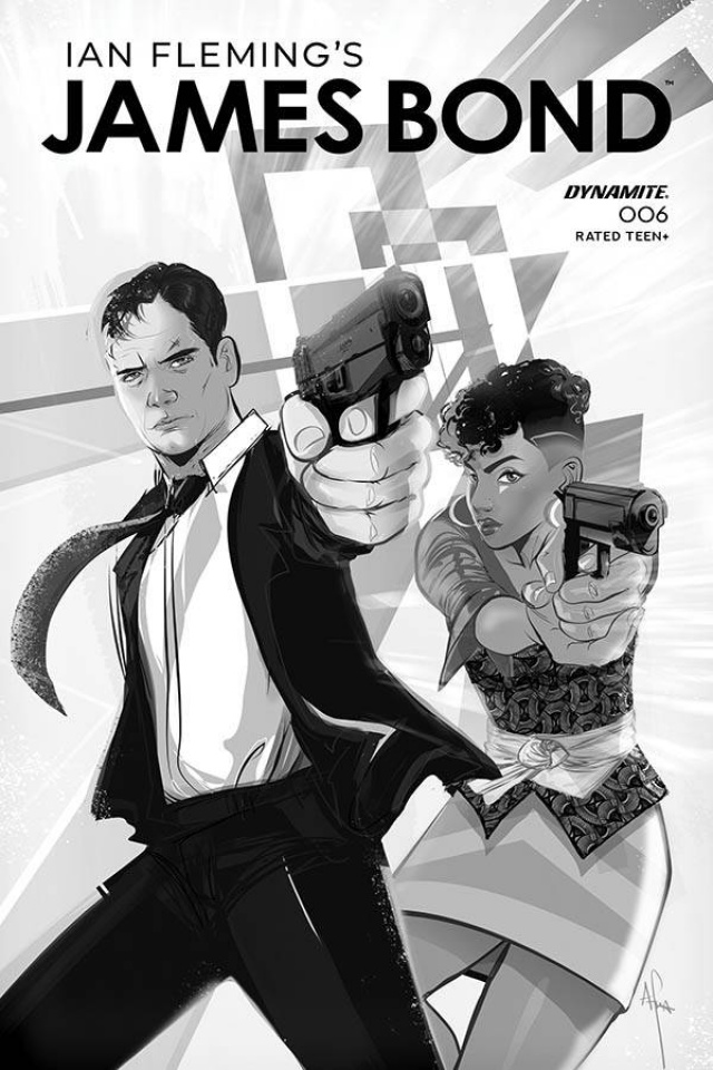 James Bond #6 (10 Copy Richardson B&W Cover)