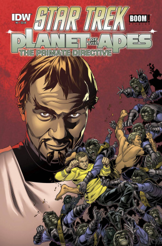 Star Trek / Planet of the Apes #4