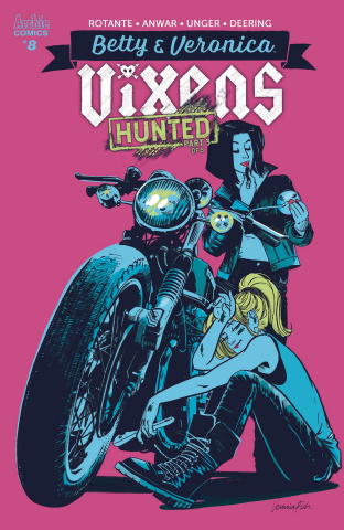 Betty & Veronica: Vixens #8 (Fish Cover)