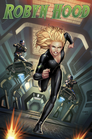 Robyn Hood: The Hunt #1 (Chen Cover)