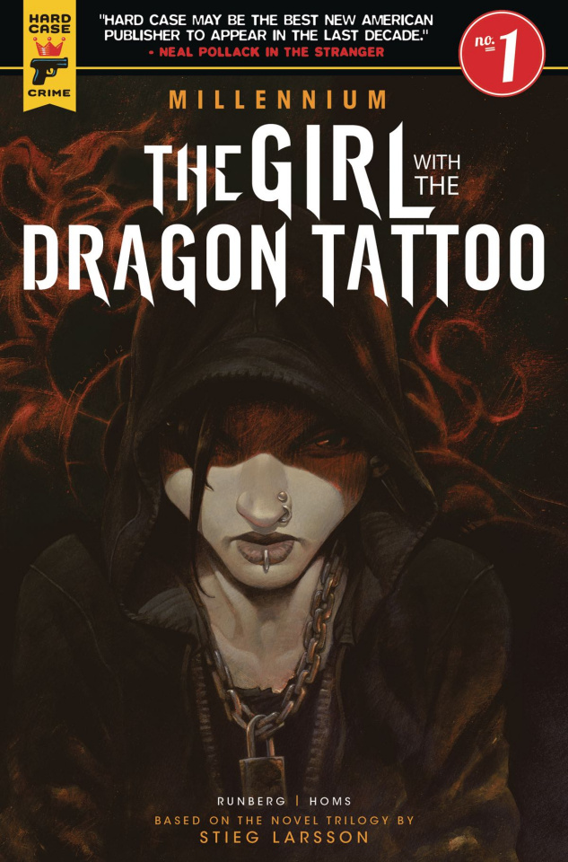 The Girl with the Dragon Tattoo #1 (Book Cover)