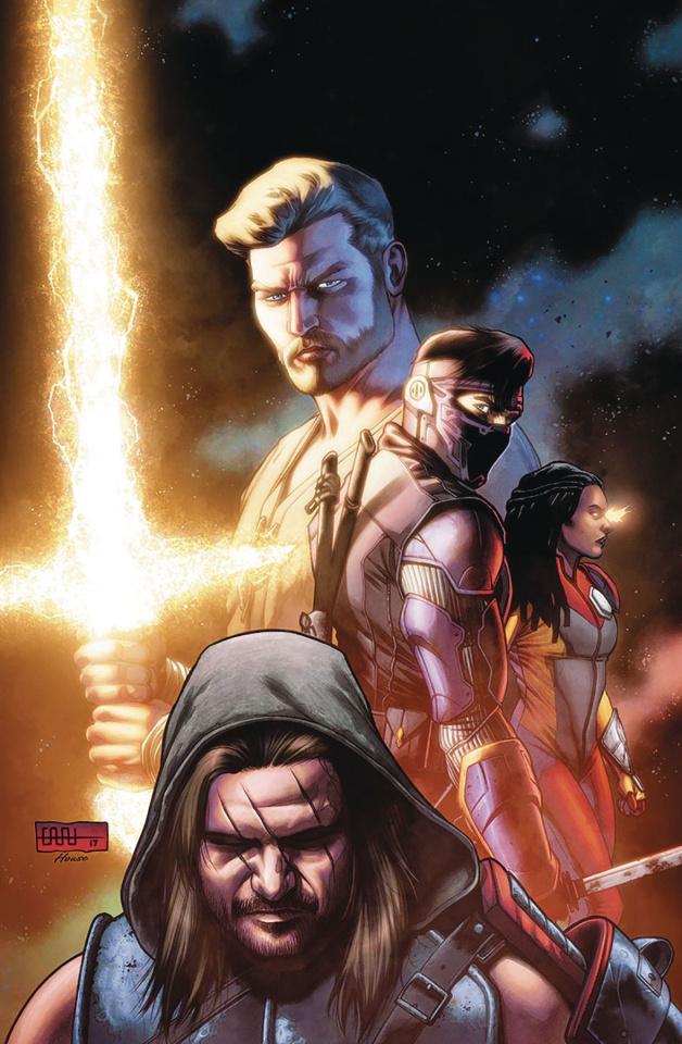 Ninjak vs. The Valiant Universe #1 (Cafu Cover)