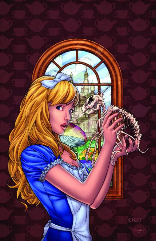 Grimm Fairy Tales: Wonderland - Down the Rabbit Hole #5 (Chen Cover)
