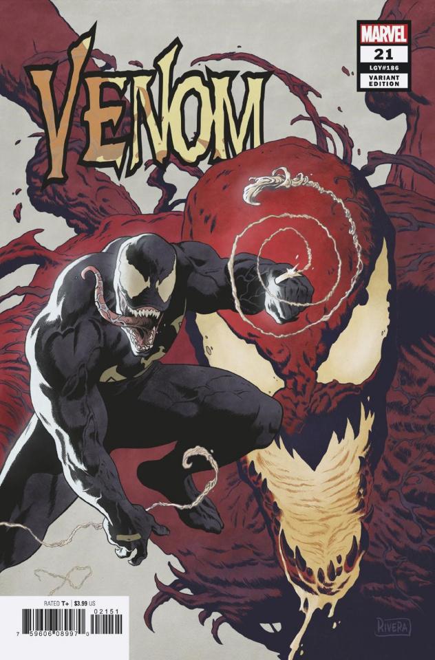 Venom #21 (Rivera Cover)