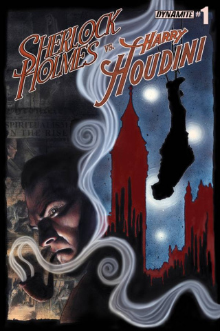 Sherlock Holmes vs. Harry Houdini #1 (Worley Cover)