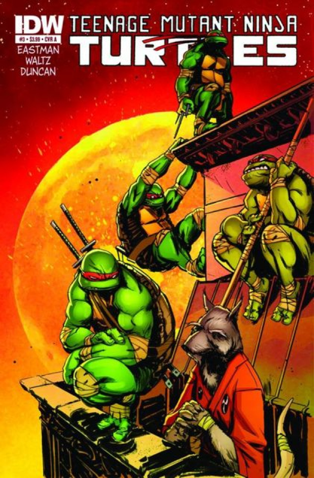 Teenage Mutant Ninja Turtles #3 (Global Conquest Edition)