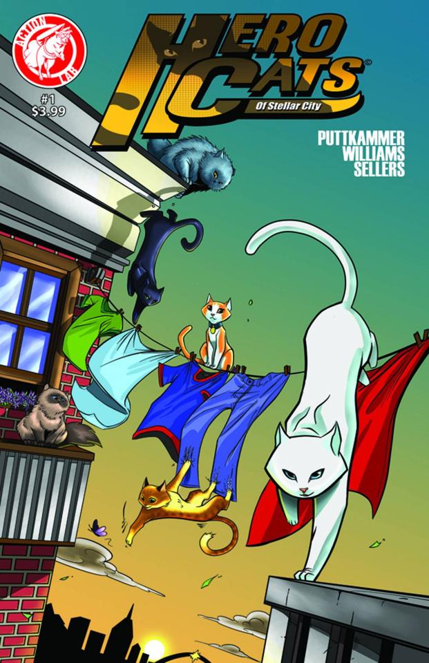 Hero Cats #1