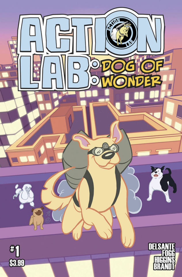 Action Lab: Dog of Wonder #1 (Higgins & Brandt Cover)