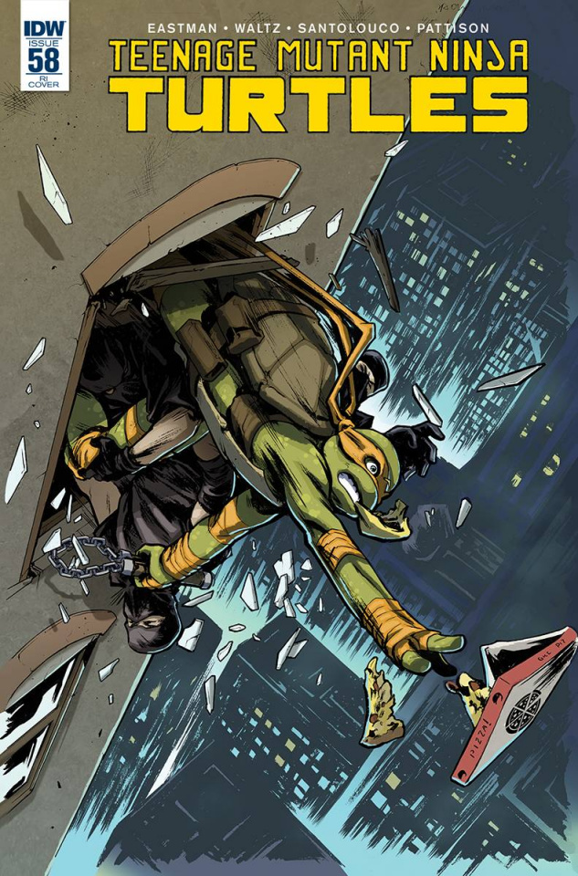 Teenage Mutant Ninja Turtles #58 (10 Copy Cover)