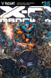 X-O Manowar #35 (20 Copy Ryp Cover)