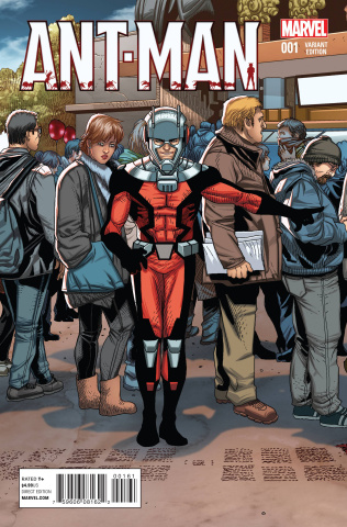 Ant-Man #1 (Welcome Home Cover)
