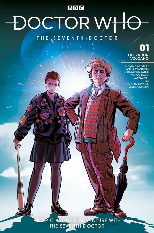Doctor Who: The Seventh Doctor #1 (Jones Cover)