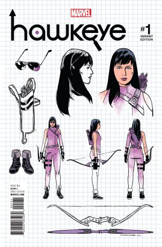 Hawkeye #1 (Romero Design Cover)