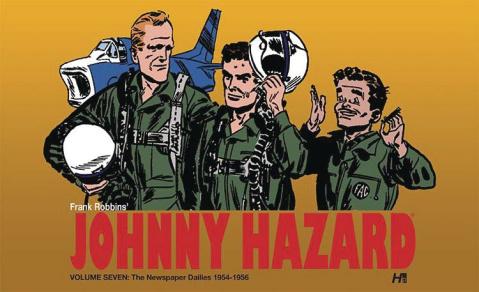 Johnny Hazard: The Newspaper Dailies Vol. 7: 1954-1956