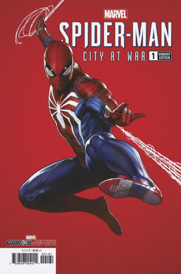 Spider-Man: City At War #1 (Granov Cover)