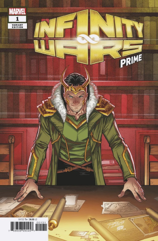Infinity Wars: Prime #1 (Lim Cover)